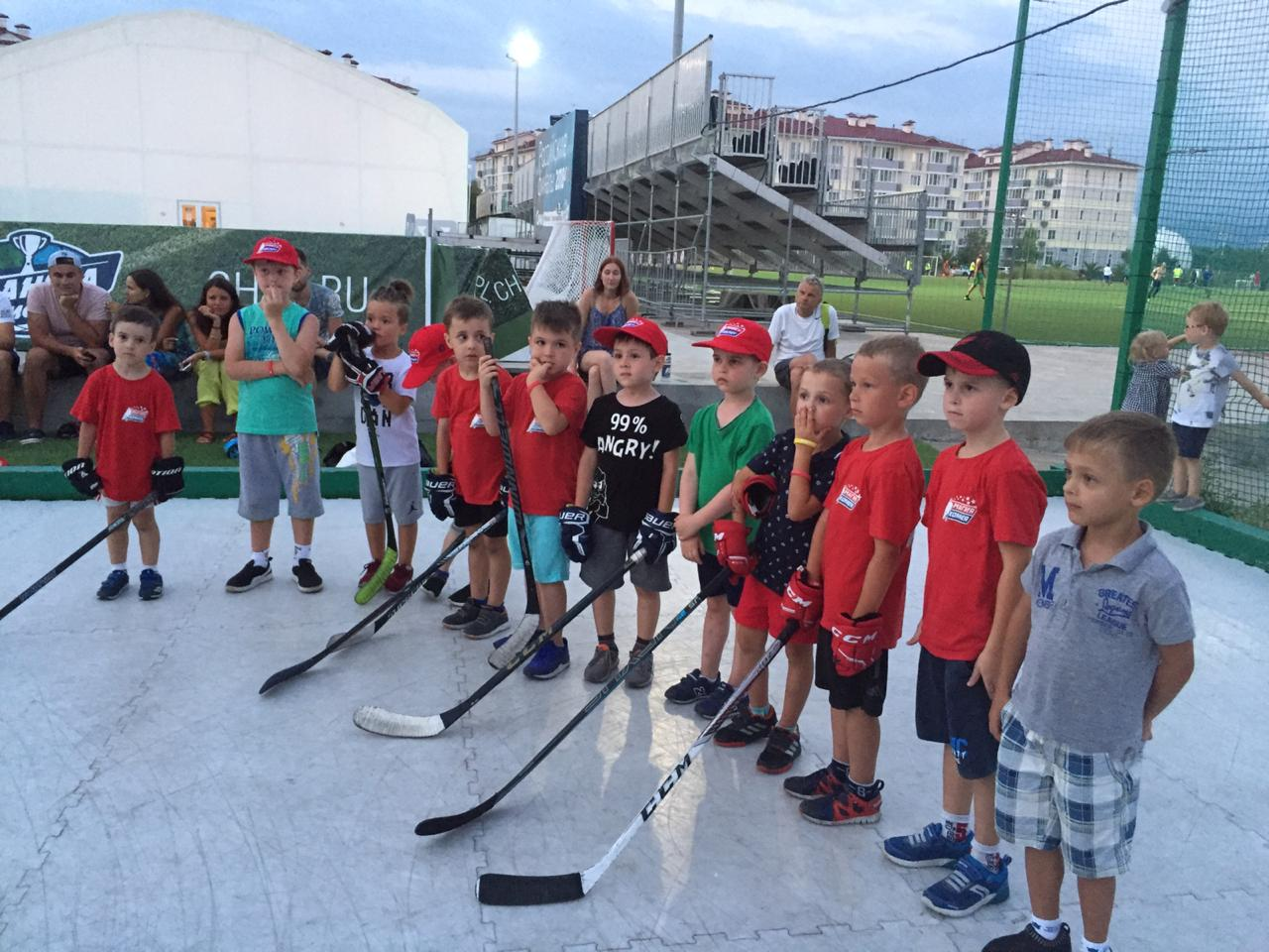 «International Ice Hockey Camp» – Хоккейный лагерь в Адлере, фото 7