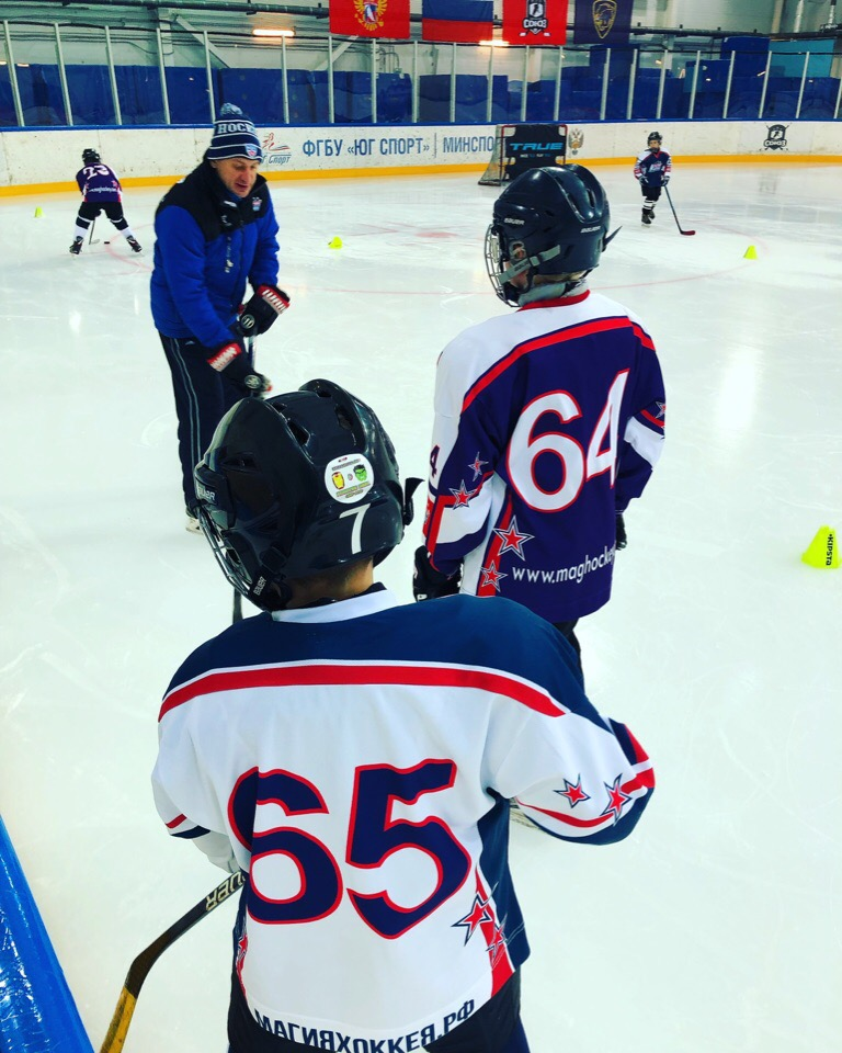 «International Ice Hockey Camp» – Хоккейный лагерь в Адлере, фото 9