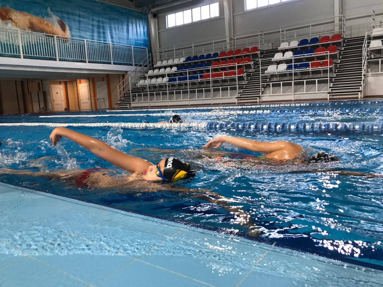 """Aqua Sport summer swim camp"" - досуг"
