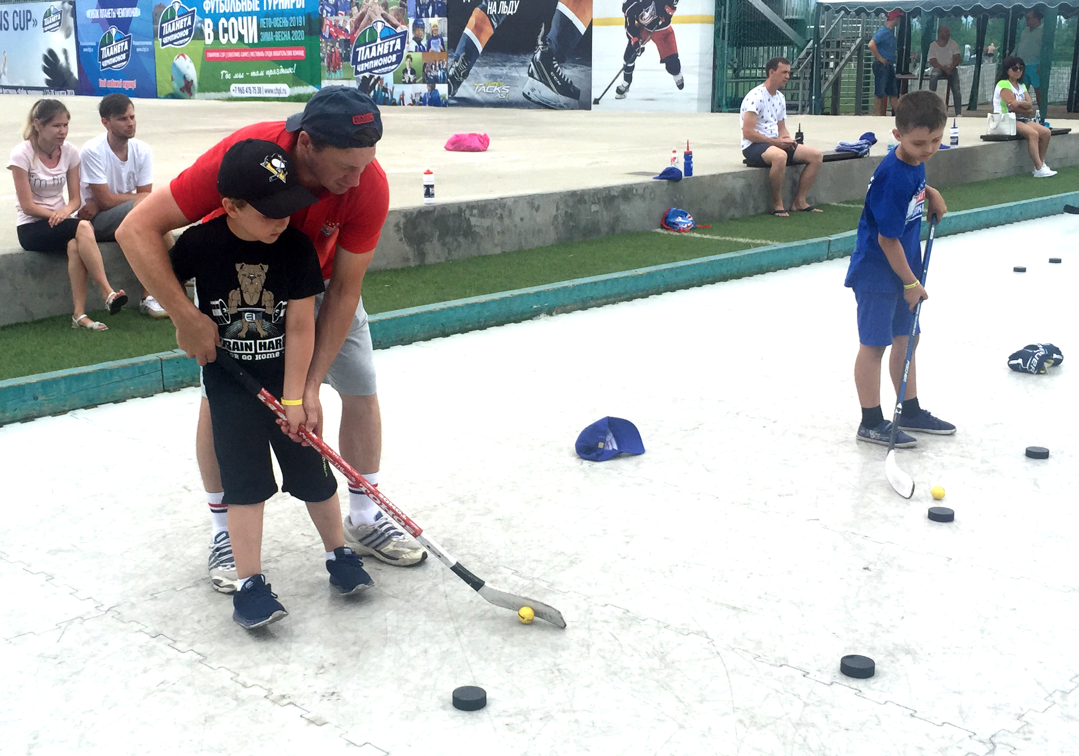 «International Ice Hockey Camp» – Хоккейный лагерь в Адлере, фото 14