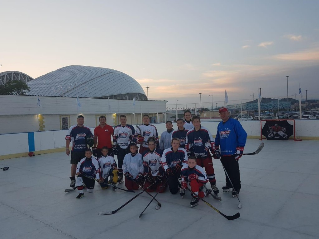 «International Ice Hockey Camp» – Хоккейный лагерь в Адлере, фото 4